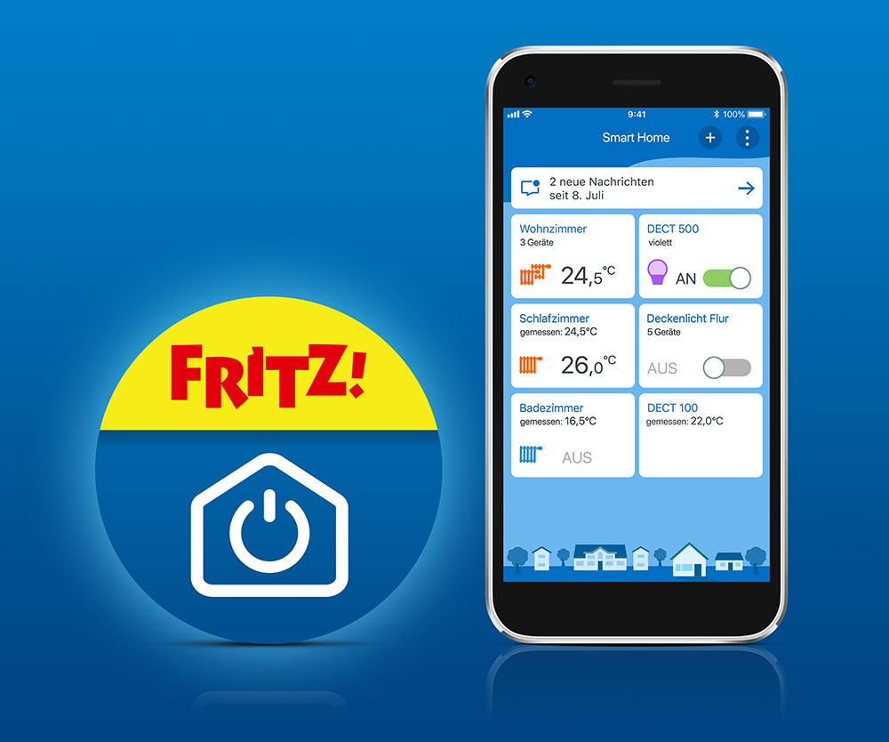 Fritz Smart Home App