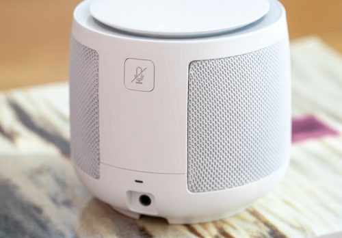 Telekom Smart Speaker Rueckseite