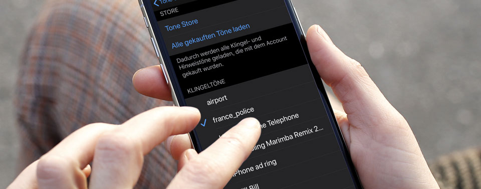macOS Catalina: Klingeltöne per Drag & Drop aufs iPhone schieben