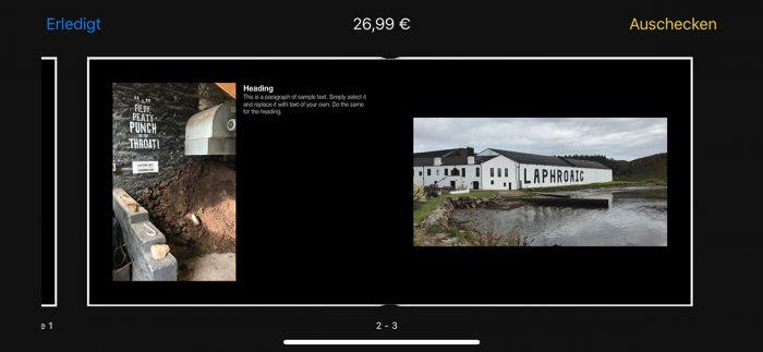 Motif App Foto Druck Ios