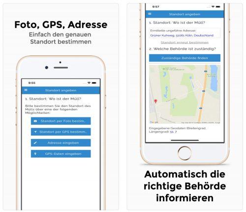 Muellweg App