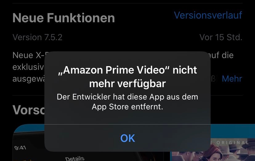 Prime Video Nicht Verfügbar