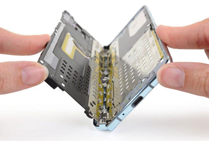 Samsung Galaxy Fold Klappmechanismus