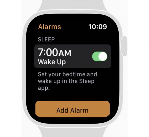 Sleep App Apple Watch Schlaftracking