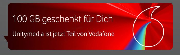 Vodafone 100 Gb Geschenkt Unitymedia Aktion