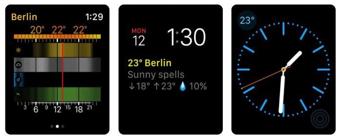 Weather Pro Apple Watch