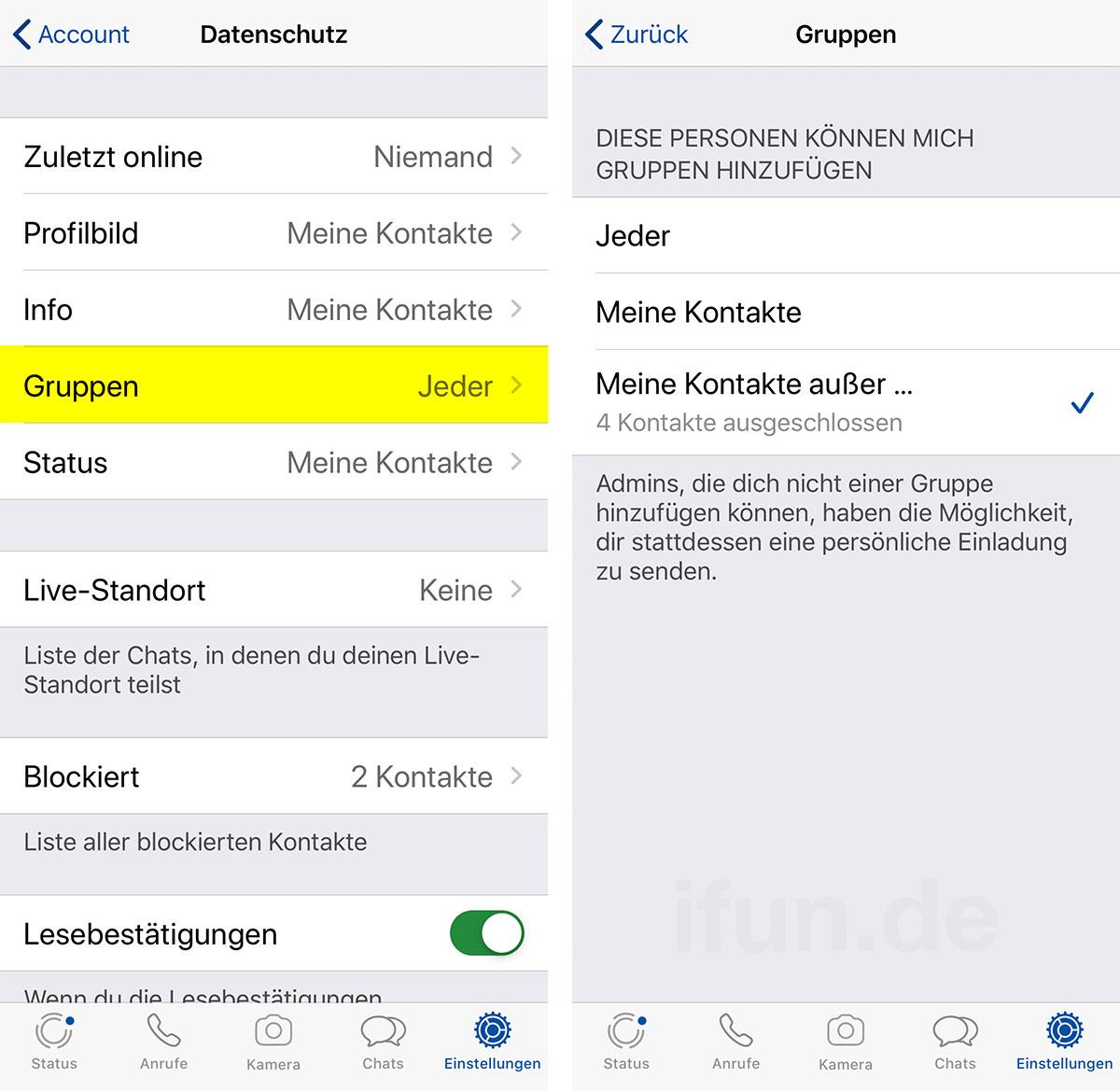Messenger: Das sind WhatsApps neue Datenschutzeinstellungen für Gruppen