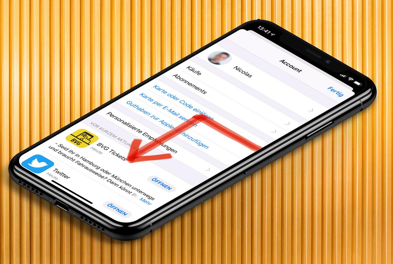 Um die Ecke gewischt: iOS 13-Geste schließt modale Fenster