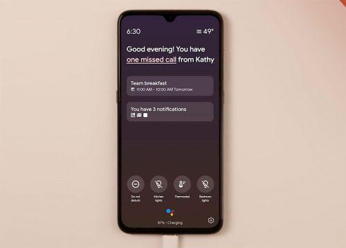Ambient Modus Google Assistant