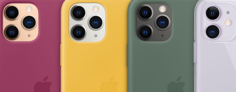 iPhone-Hüllen und Apple-Watch-Armbänder in neuen Farben