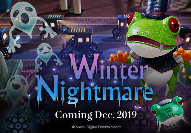 Frogger In Toy Town Winter Nightmare