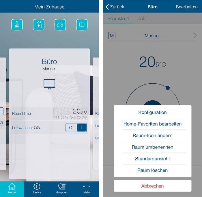 Homematic Ip App Iphone Screenshot
