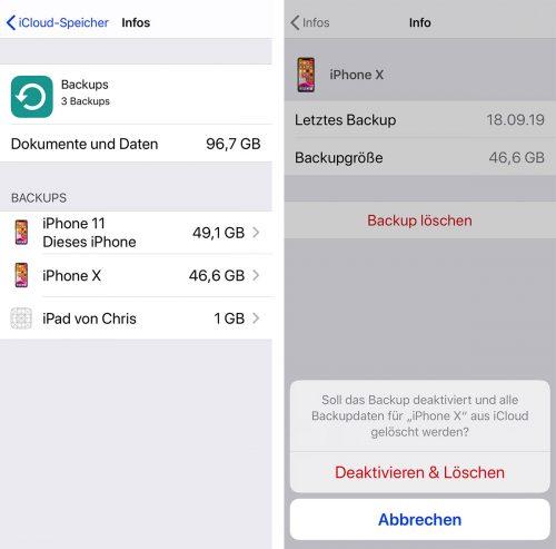 Icloud Backup Loeschen Iphone