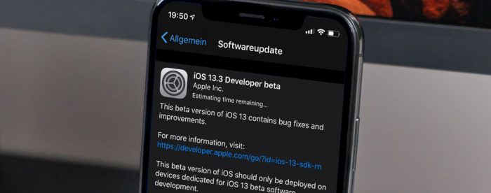 Ios 13 3 Upate Beta 1