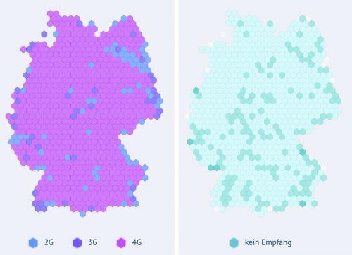 Karte Breitbandmessung Bundesnetzagentur