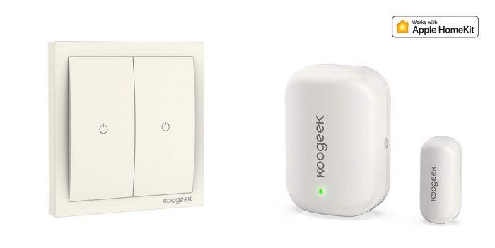 Koogeek Homekit Lichtschalter Und Fenstersensor