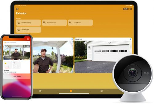 Logitech Homekit Secure Video