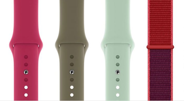 Neue Apple Watch Armbaender Apple Granatapfel Beryll