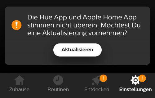 Philips Hue Sync Mit Homekit