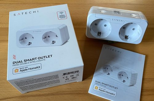 Satechi Dual Smart Outlet Lieferumfang