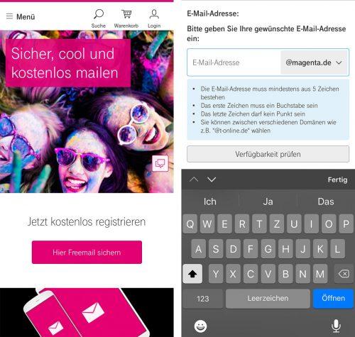 Telekom E Mail Magenta De
