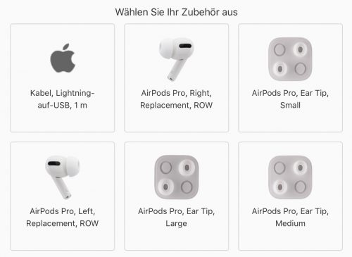 Airpods Pro Ersatzteile