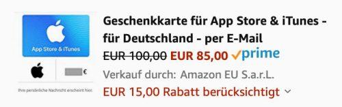 Apple Id Guthaben Bei Amazon Mir Rabatt