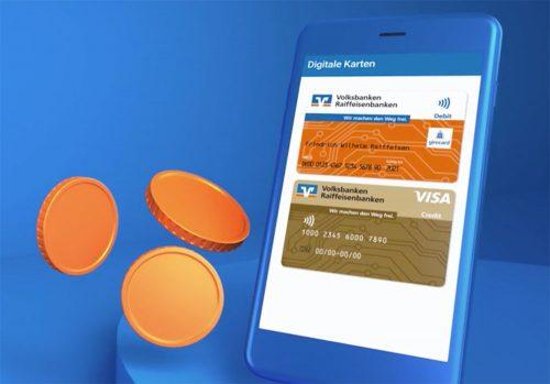 Digitale Karten Volksbank