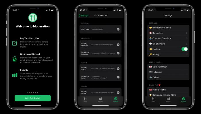 Moderation App Zwo