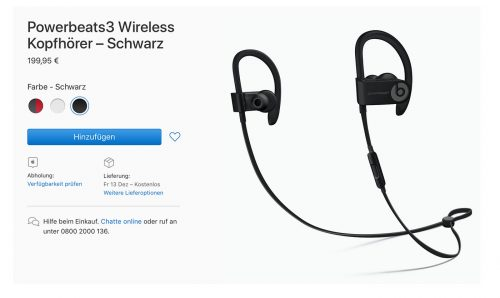 Powerbeats3 Wireless Bei Apple