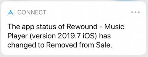 Rewound Entfernt
