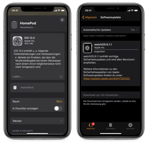 Watchos Homepod