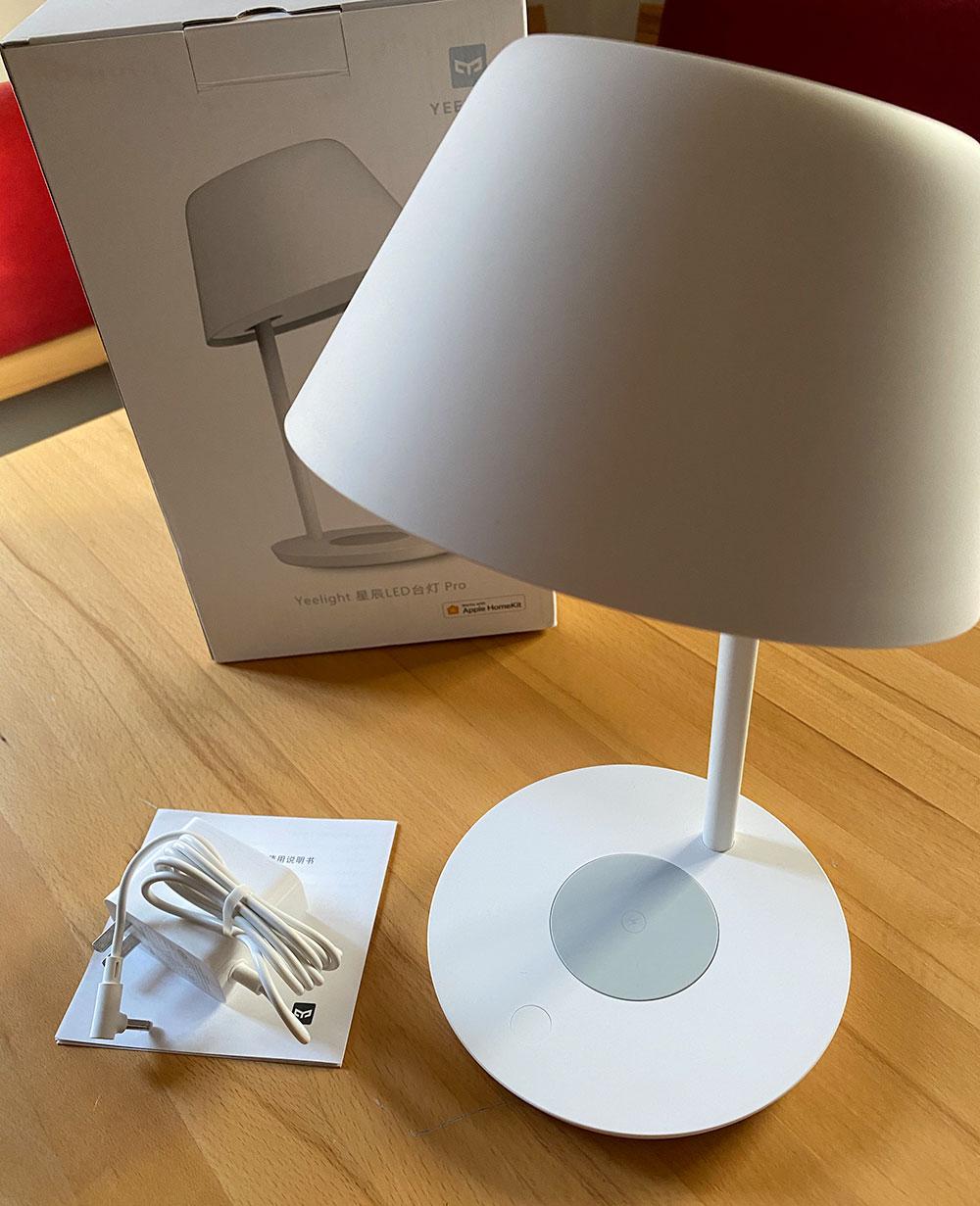Yeelight Led Table Lamp Pro Lieferumfang