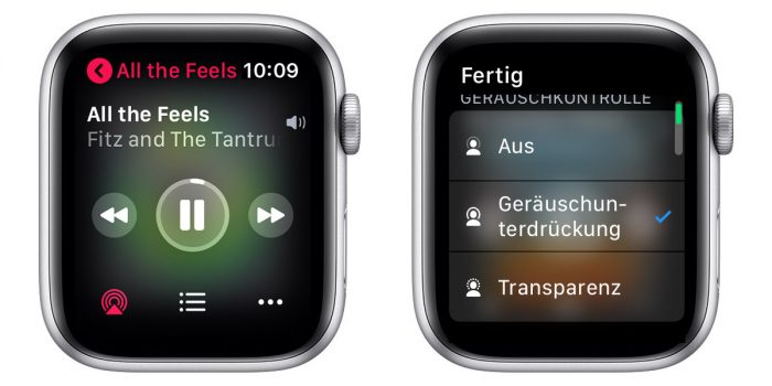 Airpods Pro Noise Cancelling Einstellungen Apple Watch