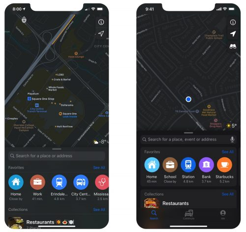 Apple Maps Redesign