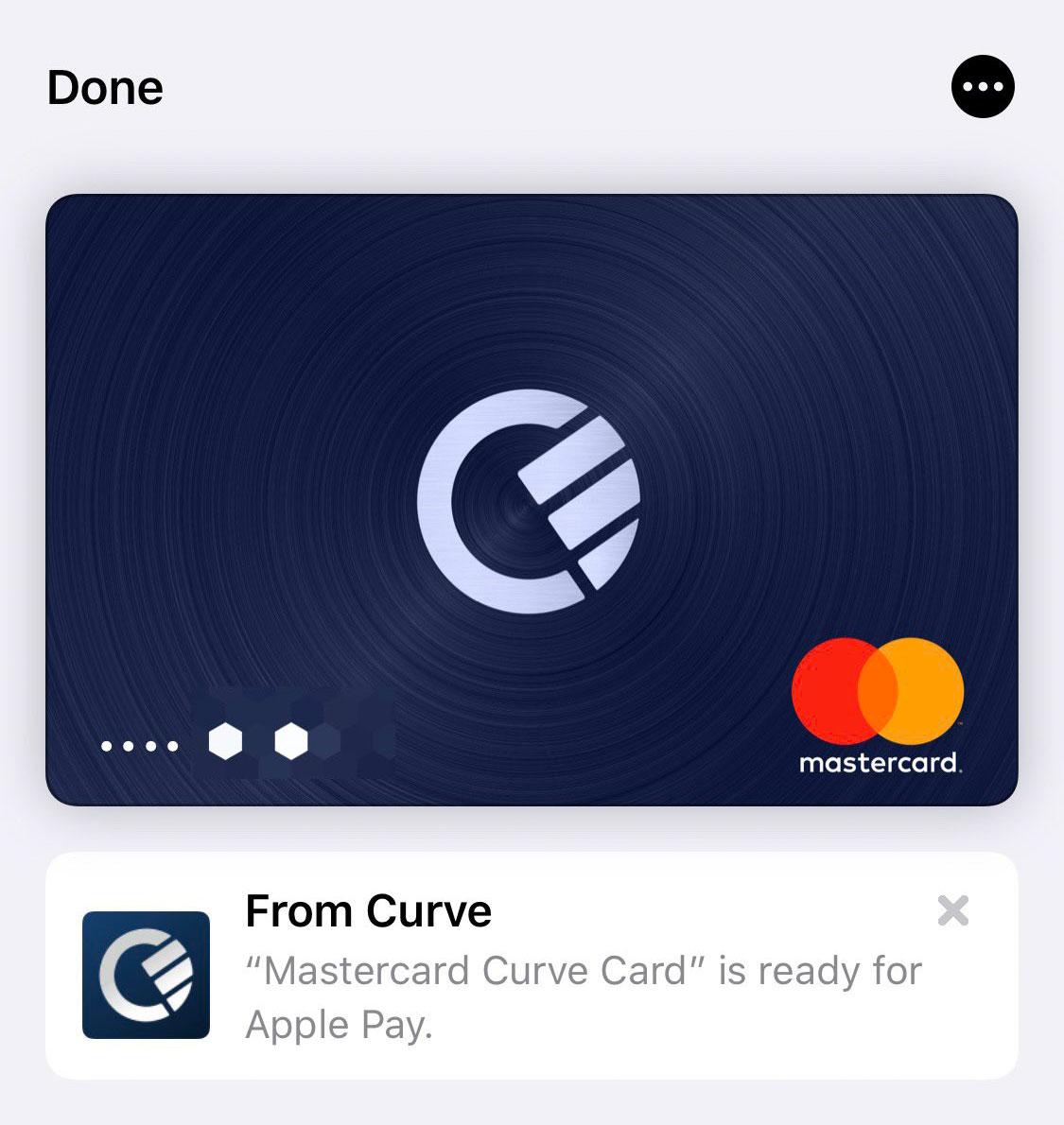 Curve Card