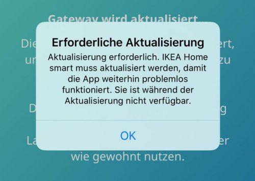 Ikea Update Bug