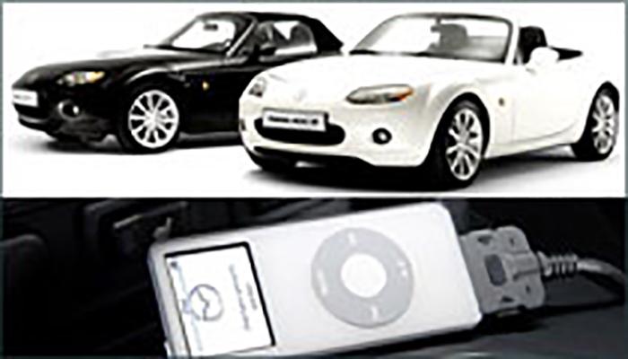 Mazda Black White