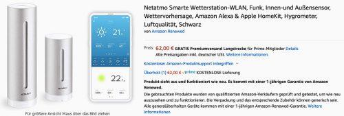 Netatmo Angebot