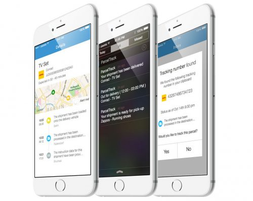 Parceltrack Iphone App