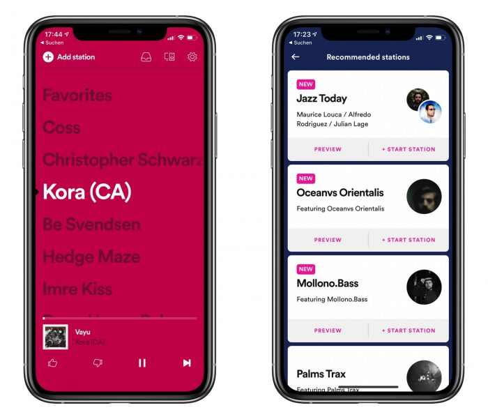 Stations App