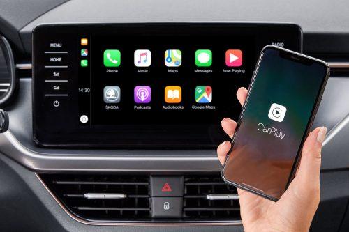 Wireless Carplay Skoda