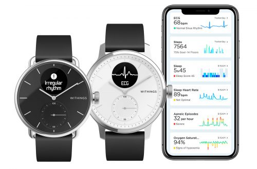 Withings Scanwatch Mit App