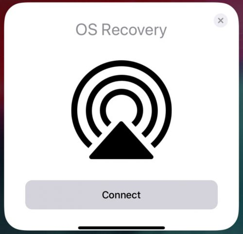 Apple Recovery IOS