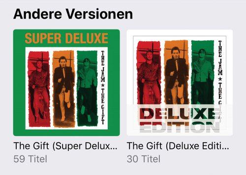 Apple Music Alben Andere Versionen