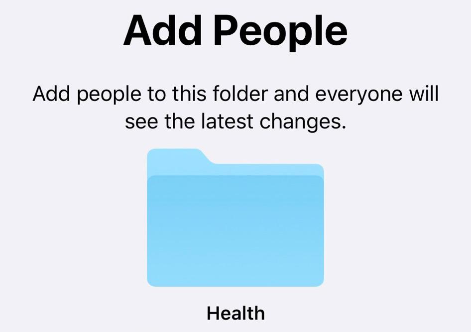 Neuer ordner iphone