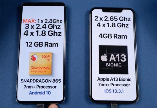 Iphone 11 Pro Vergleich Mit Galaxy S20 Ultra