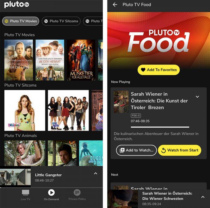 Pluto Tv Iphone App