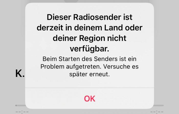 Radio Laendersperre