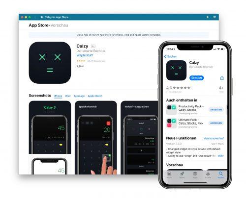 Calzy App App Store